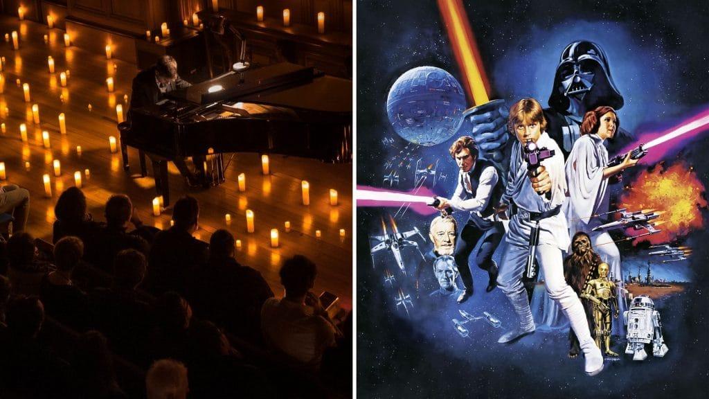 star wars concert ost bande originale concert candlelight paris à la bougie