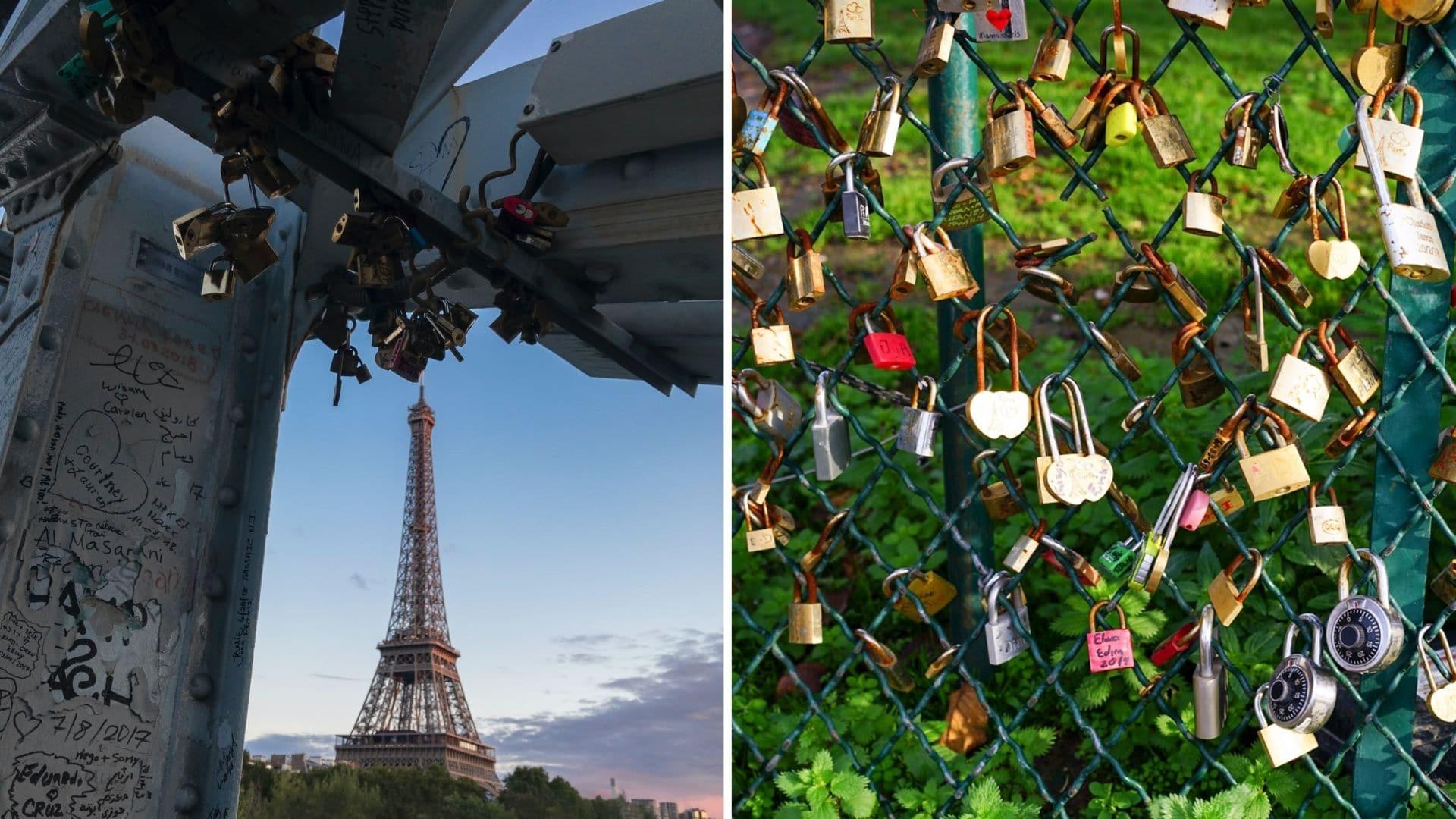 cadenas paris montmartre amour couple romantisme 1
