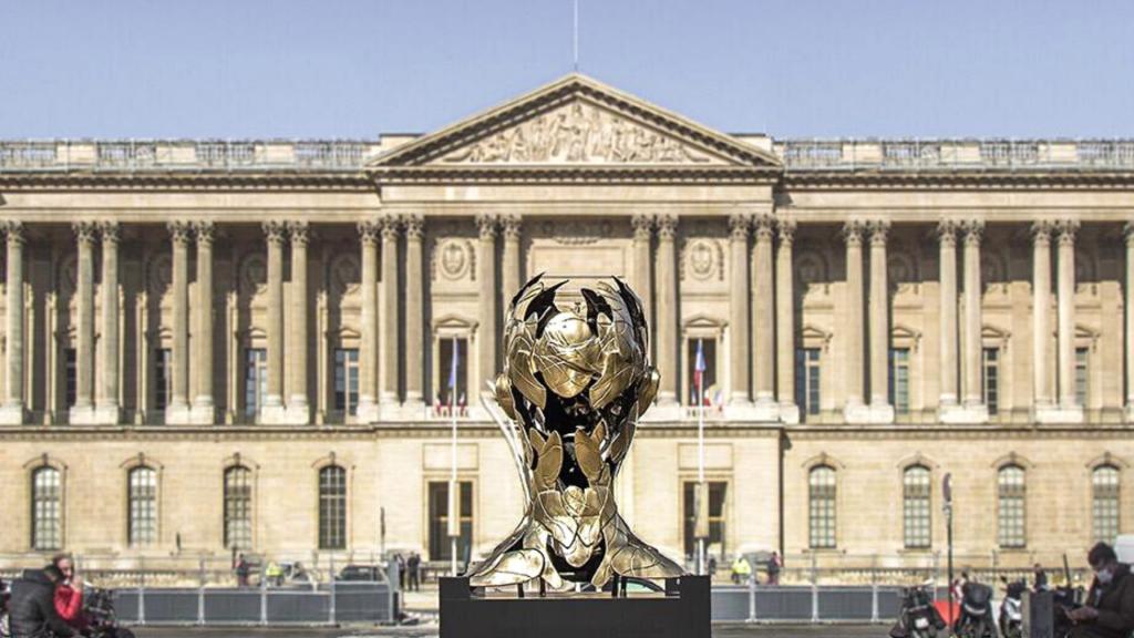 Expo en plein-air : 5 sculptures de bronze dont 1 monumentale s'installent place du Louvre !