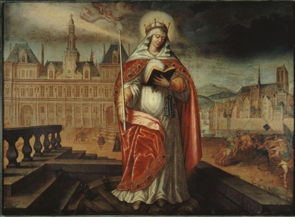 sainte geneviève paris huns histoire