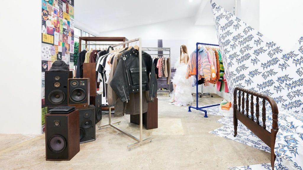 DOVER STREET MARKET INTERNATIONAL paris popup mode concept store 1
