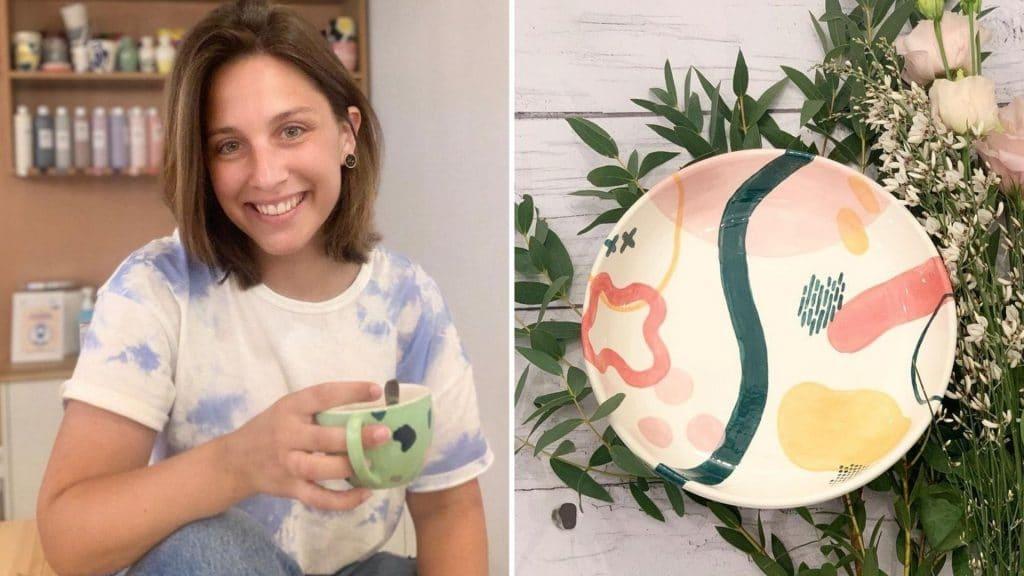 atelier geneviève paris céramique peinture céramicafé créatif