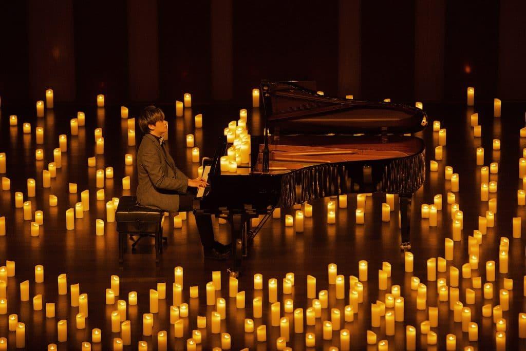 mai 2021 concert Candlelight à la bougie hommage Daft Punk piano solo Paris