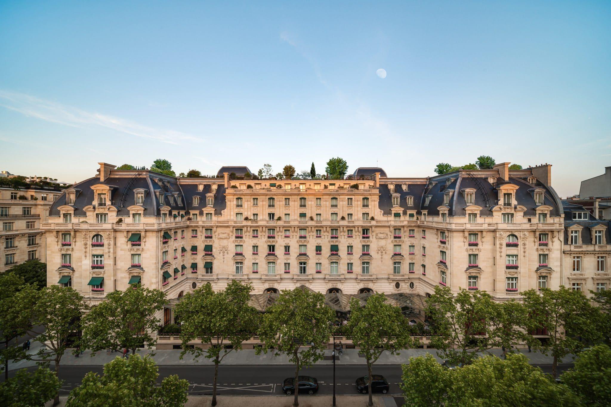 The Peninsula Paris hotel palace vue ouverture