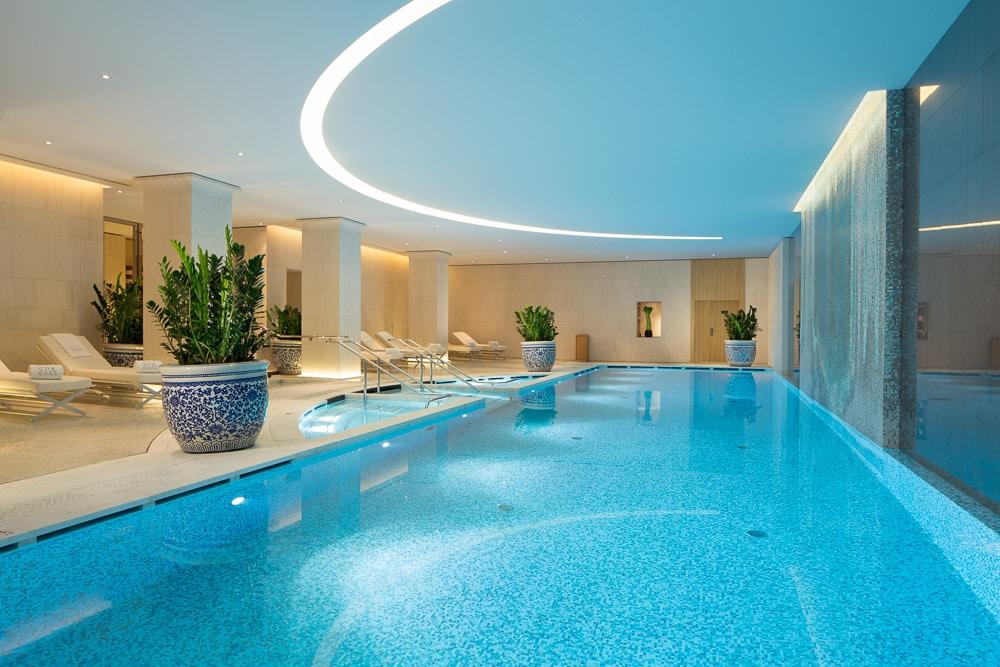 The Peninsula Spa - Pool paris palace ouverture offre vacances