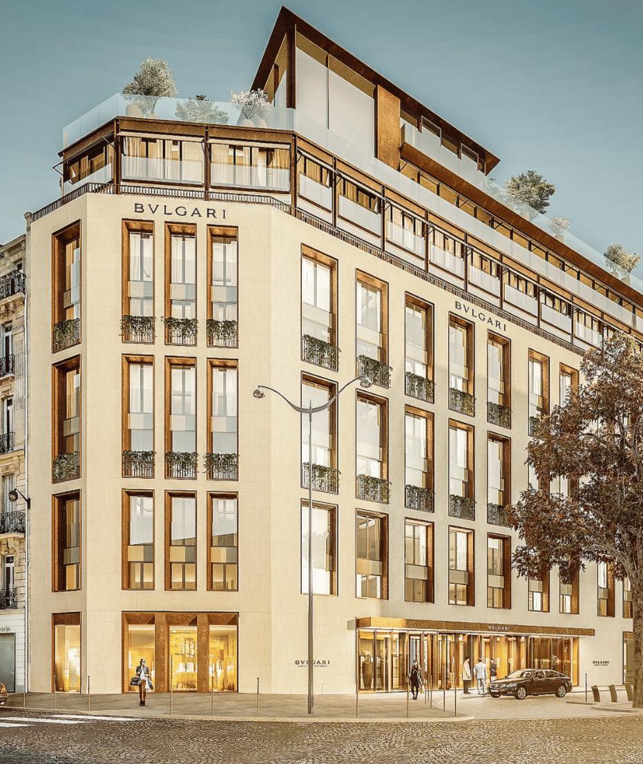 bulgari paris palace hotel 5 étoiles