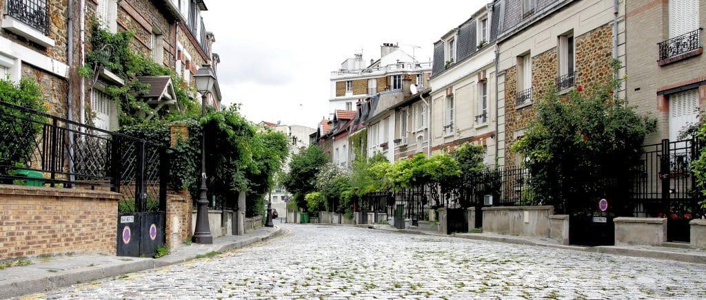 Paris - village - butte - balade - visite