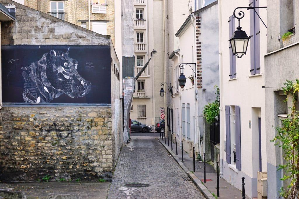 Paris - village - butte aux cailles - street art - balade - visite