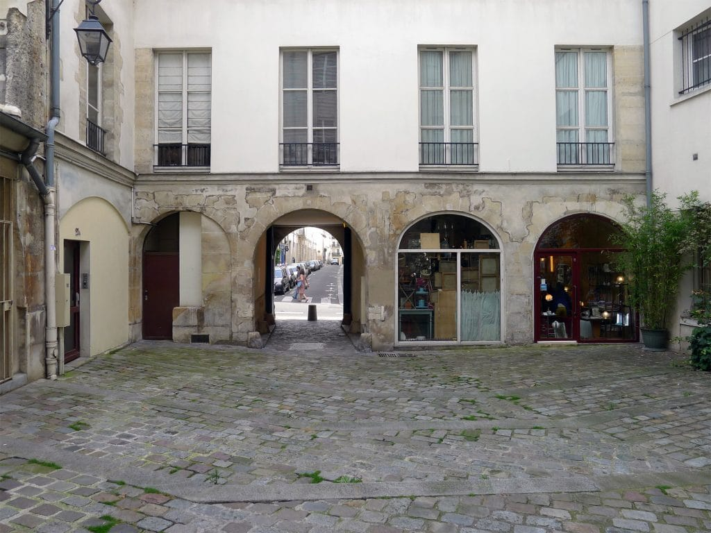 Paris - village - marais - saint paul - balade - visite