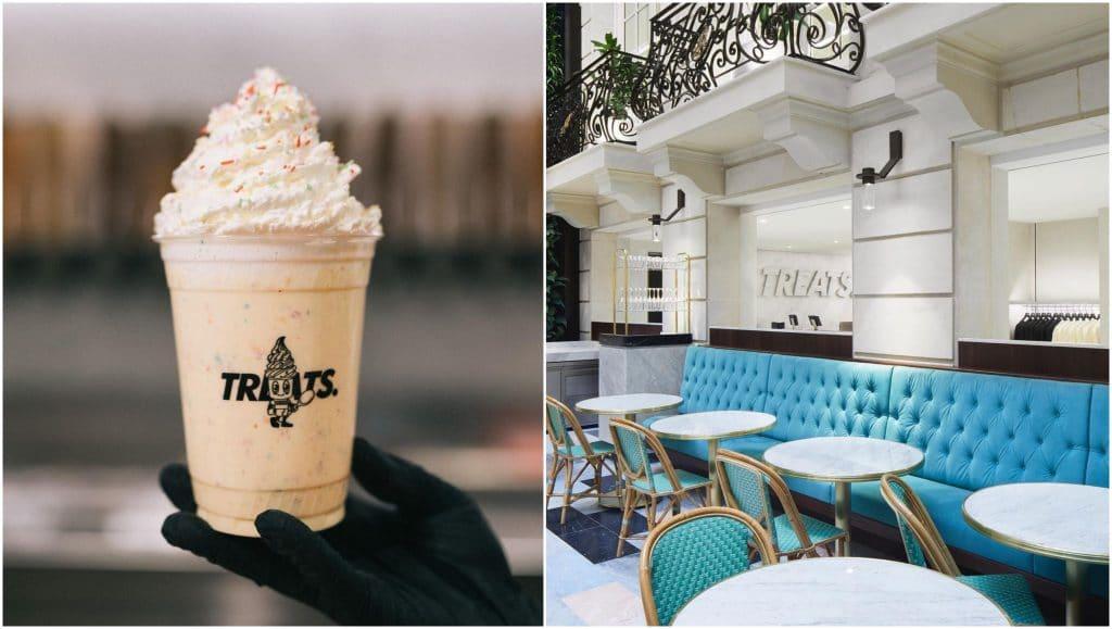 Treats nouveau bar à glaces KITH Paris