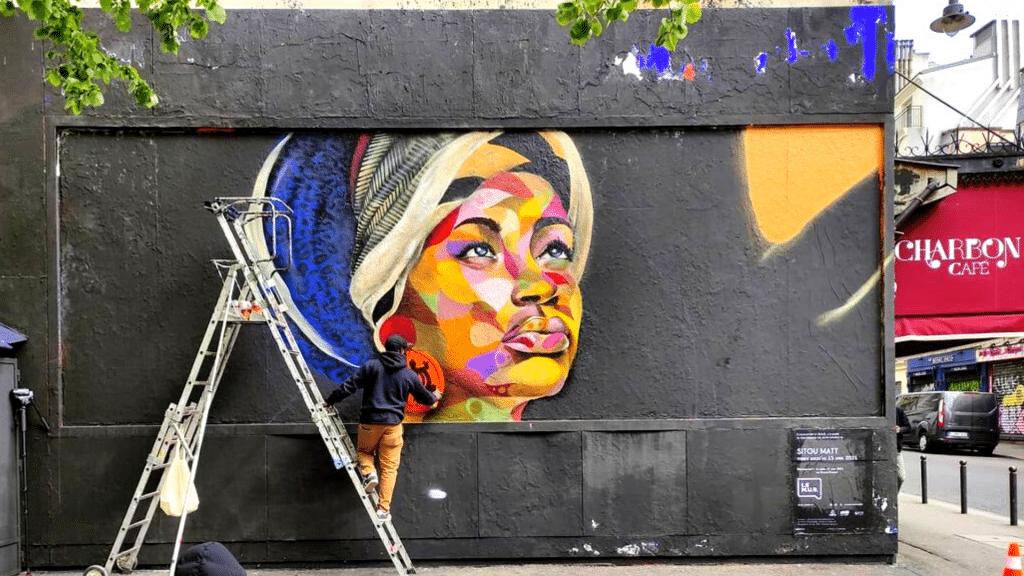 Paris nouvelles oeuvres street art à découvrir à Paris avril 2021