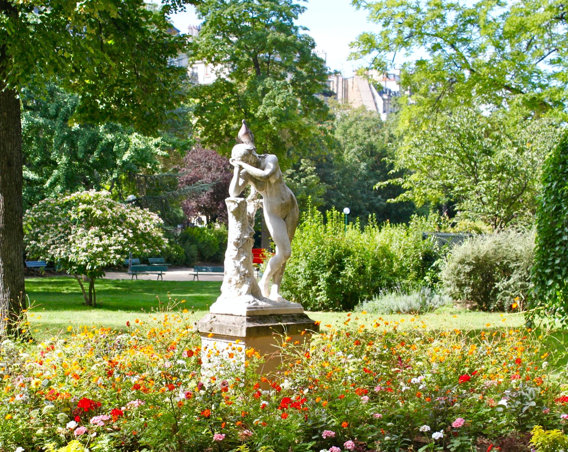 parcs jardins printemps été soleil paris balade beau temps jours