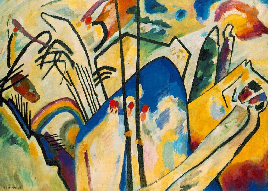 Kandinsky - peinture - paris - centre pompidou - exposition