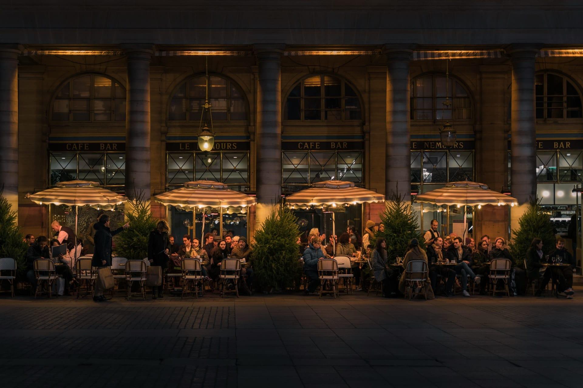 restaurants paris visite virtuelle prestige histoire