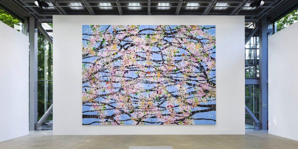 Cherry Blossom expo Paris fondation cartier