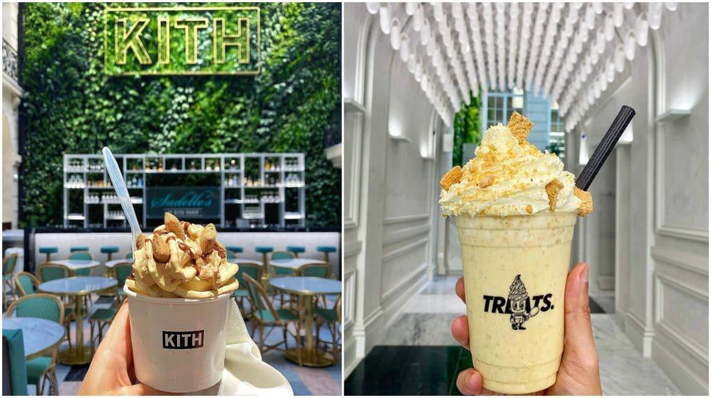 Bar à glaces Treats Kith Paris