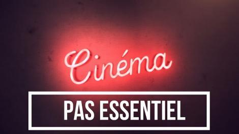 Projection films cinémas français protestation fermeture ce week-end