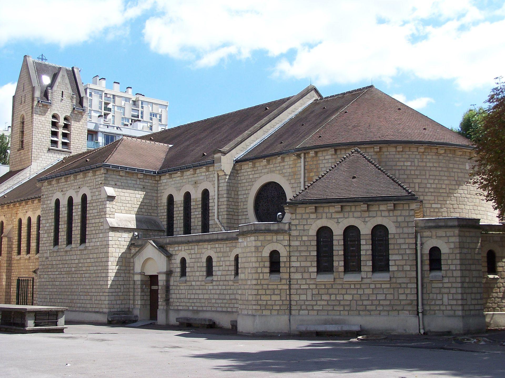 Église_Notre-Dame-des-Otages_ commune de paris