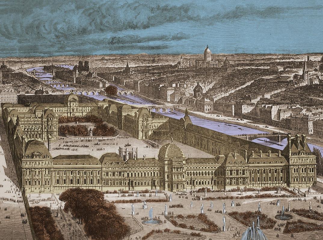 Palais-des-Tuileries commune de paris vestiges