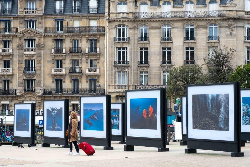 Exposition gratuite ciel ouvert Gare de Lyon 1 Océan Unesco Paris