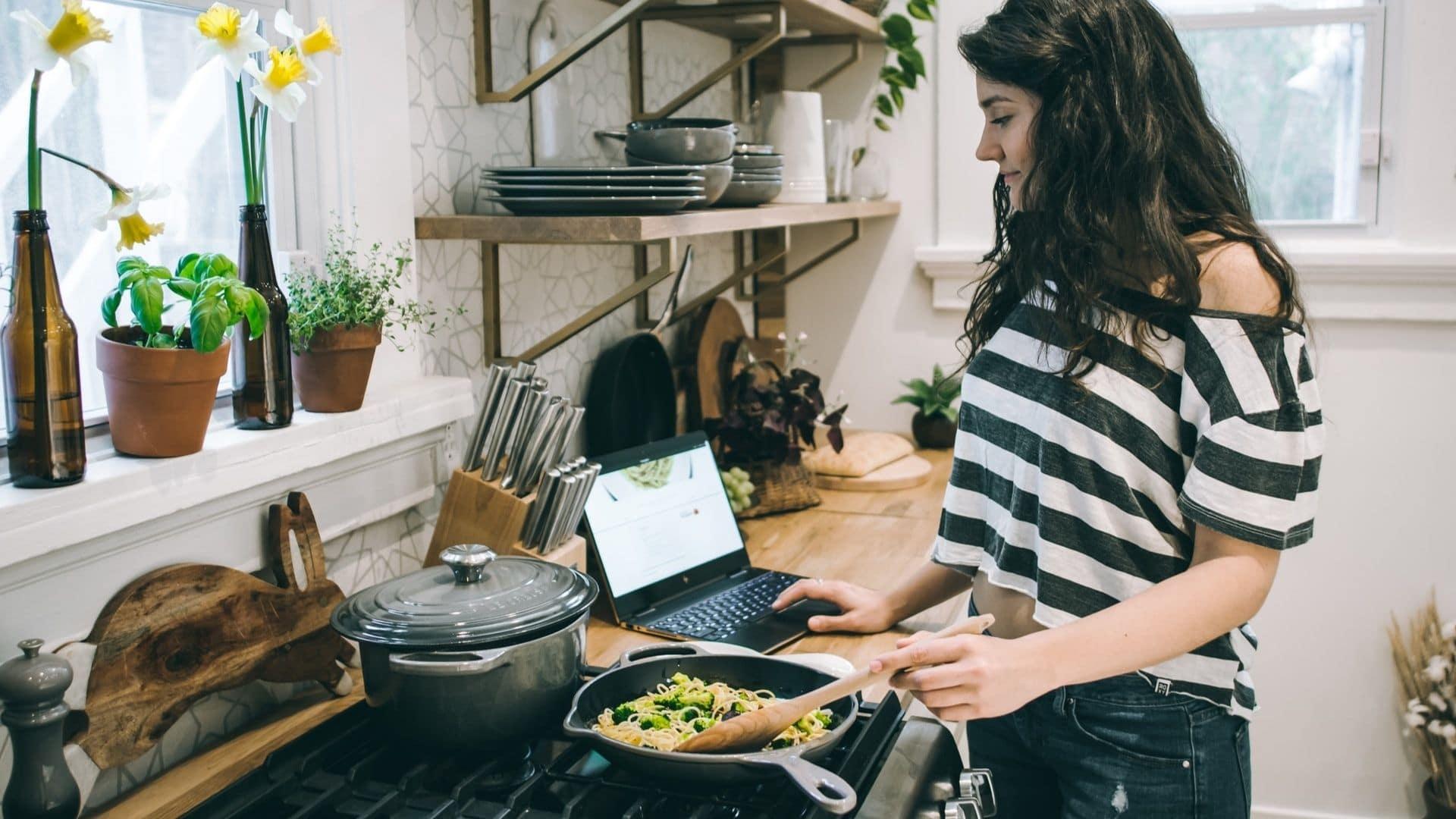 chef sur le campus paris cours de cuisine en ligne gratuit étudiant bien manger sain
