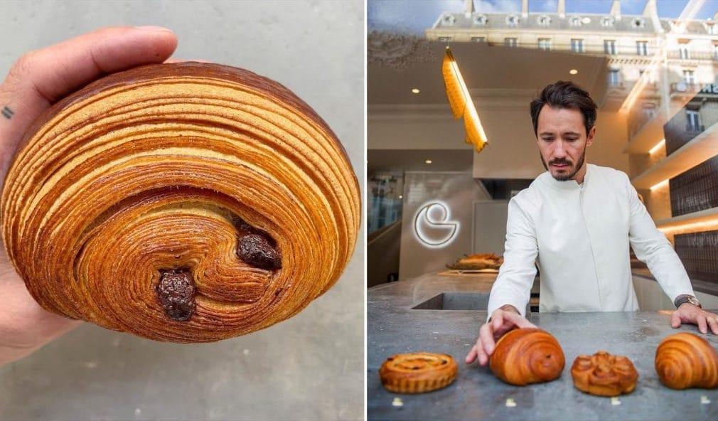 Cédric Grolet recette pains au chocolat