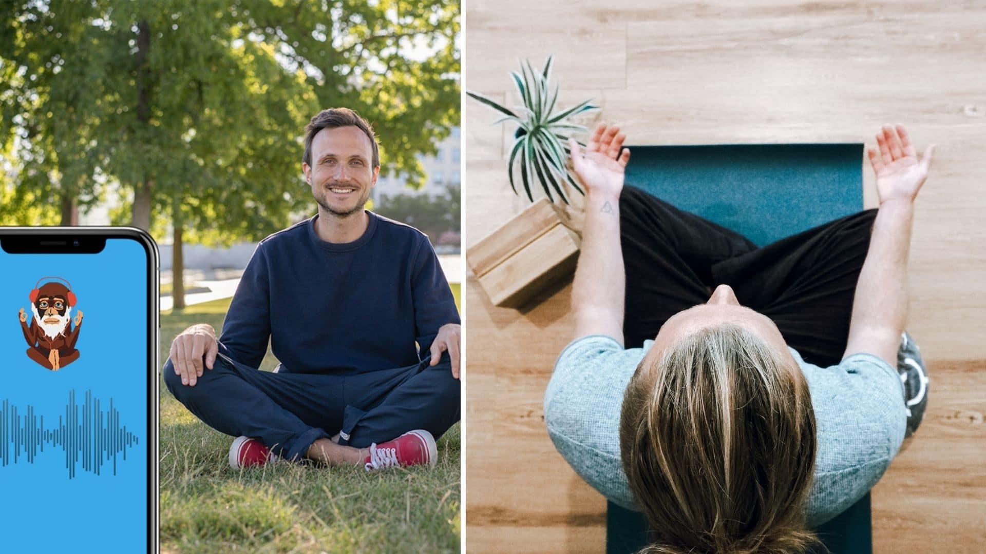 namatata application méditation relaxation détente mindfulness en ligne chez soi bien-être