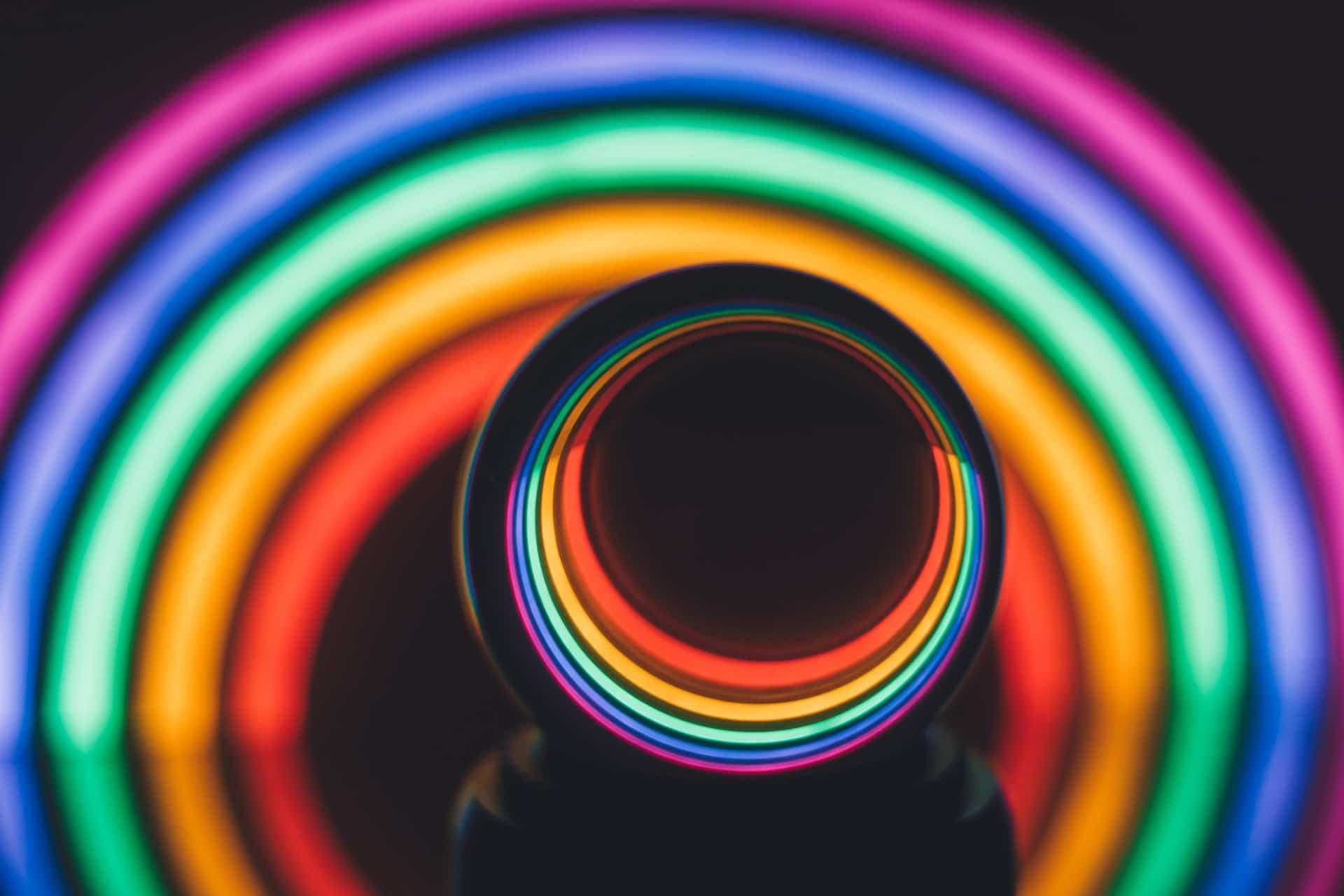 fondation cherqui jean art néons illusions visuels