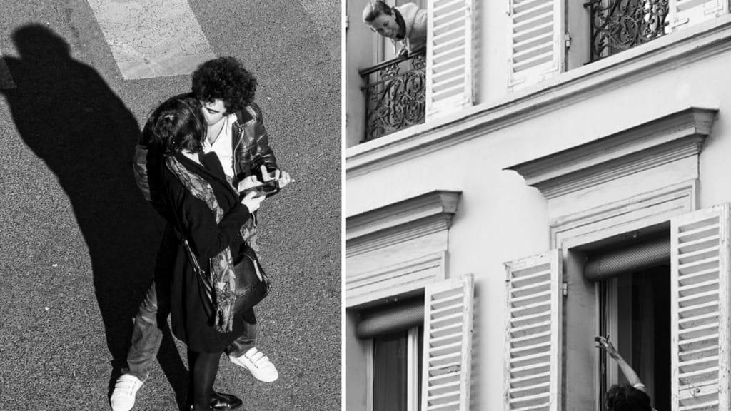 photographies Philippe Enquin livre de mon balcon photographies paris noir et blanc confinement