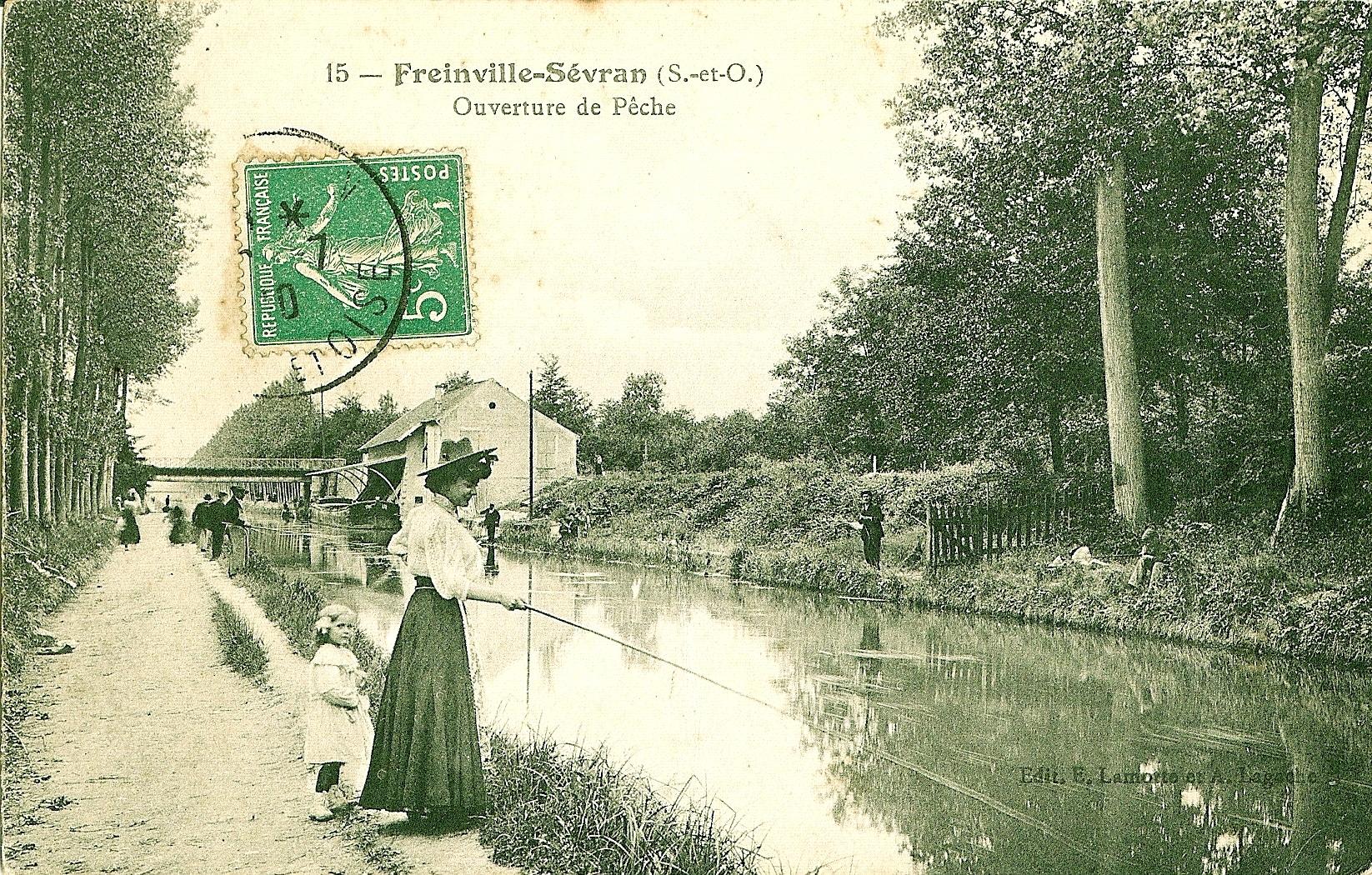 canal de l'ourcq paris pêche histoire eau potable