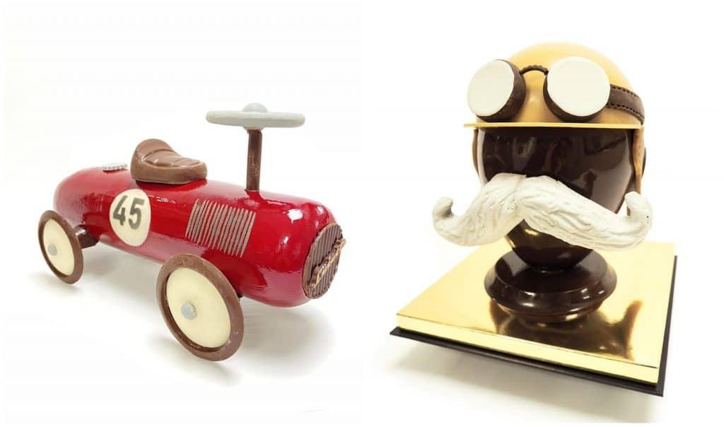 Pâques 2021 virées automobiles Nicolas Guerico Hôtel Lutecia oeuf chocolat
