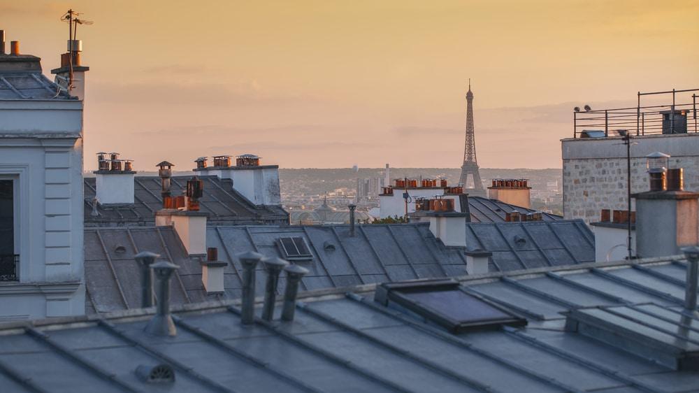 Histoire toits de Paris