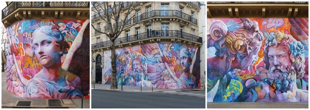 Plein-air les nouvelles oeuvres de street art à voir en ce moment à Paris mars avril 2021