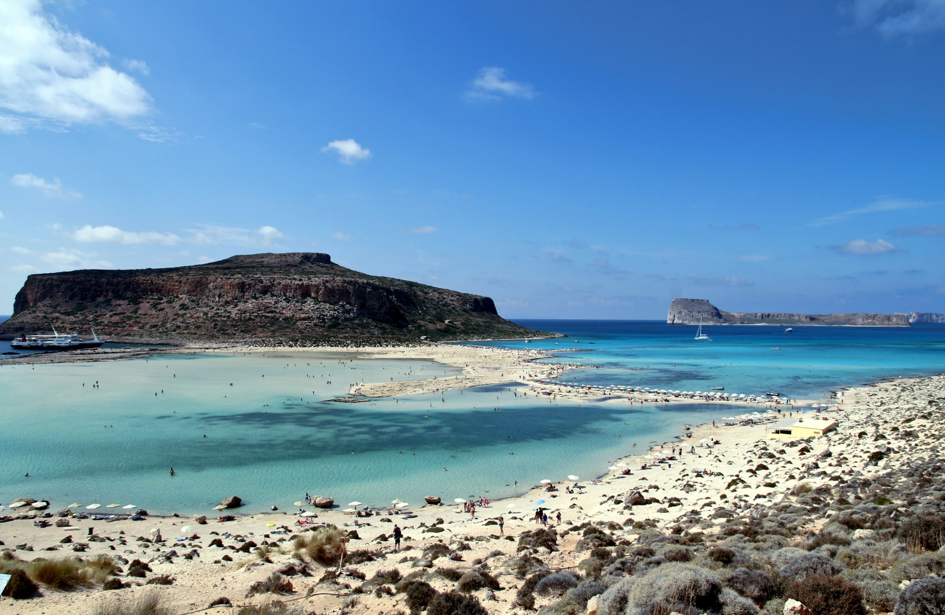 kissamos beach plage grèce cyclades lagon