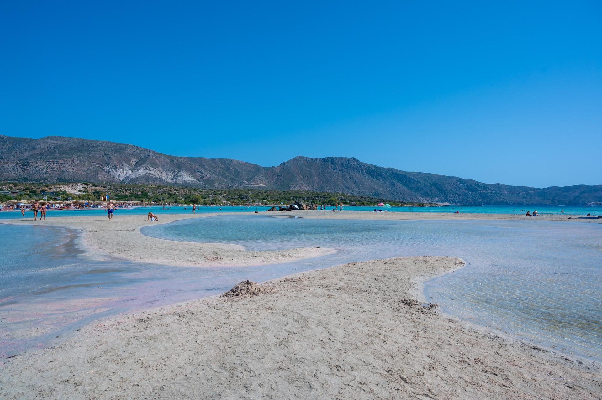elafonissi beach kissamos grèce plage