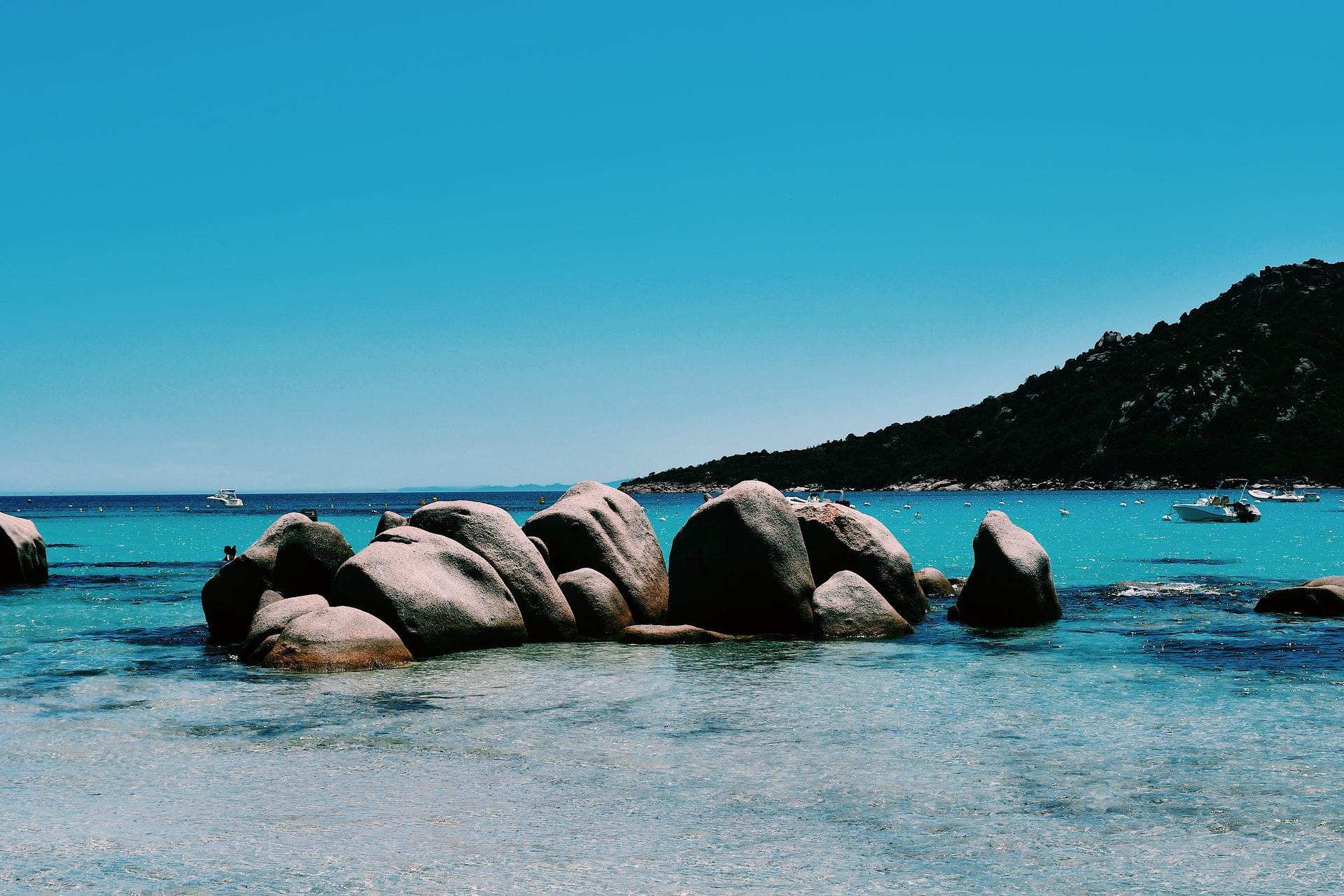 corse plage santa giulia vacances