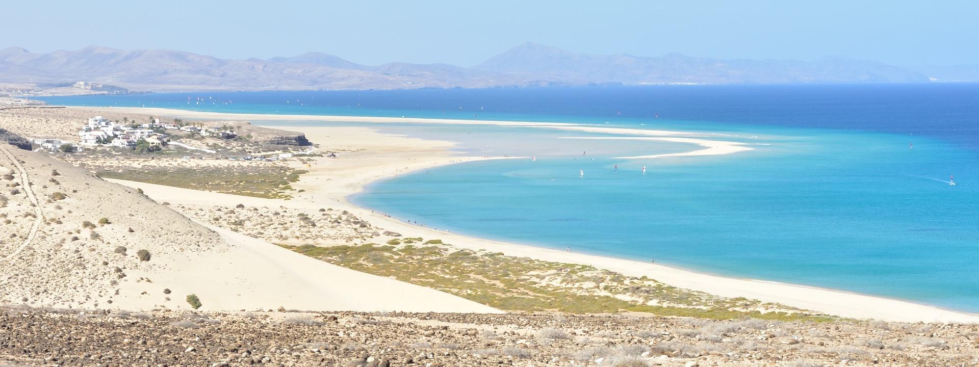 sotavento beach plage fuertaventura espagne
