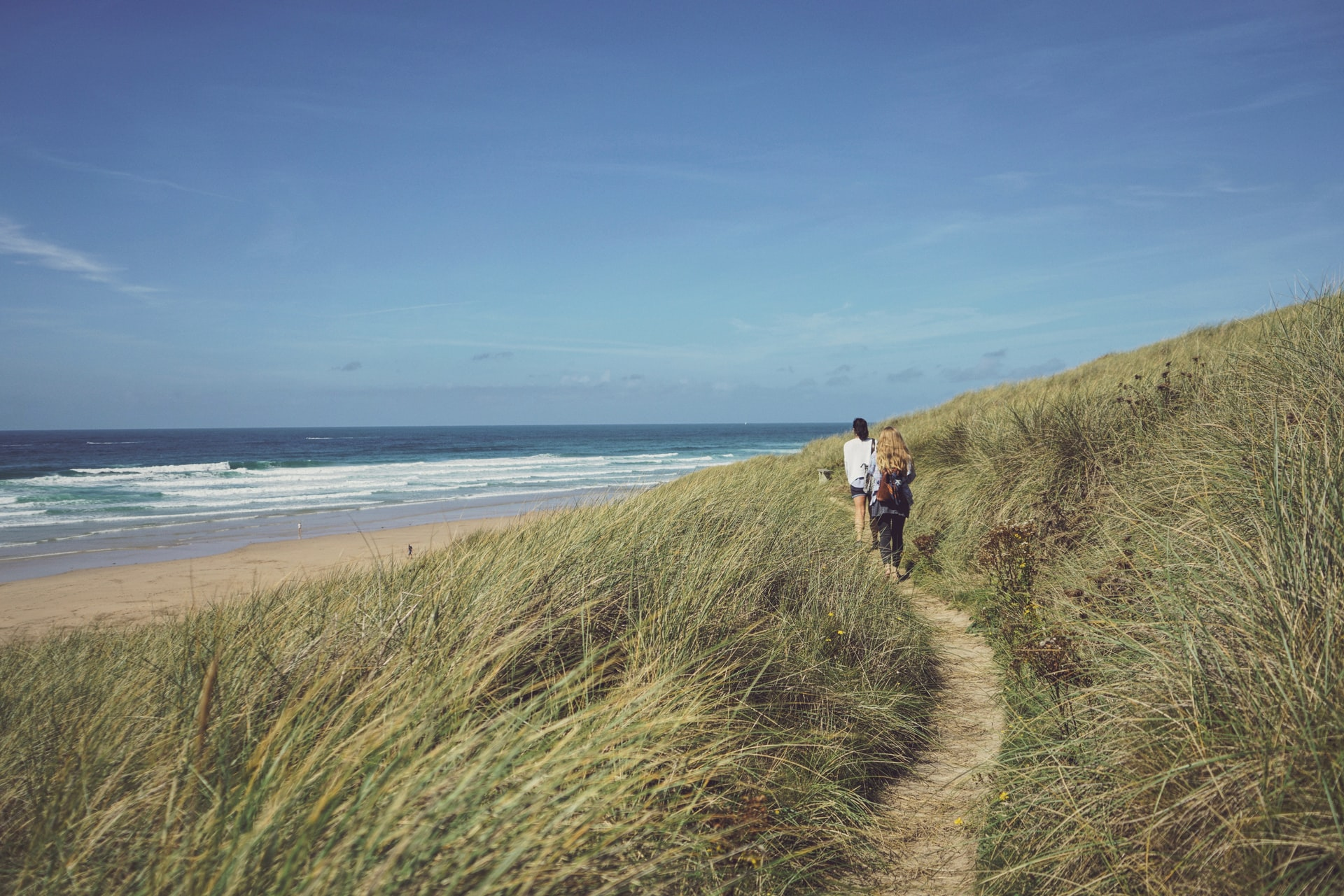 perranporth beach plage angleterre royaume uni