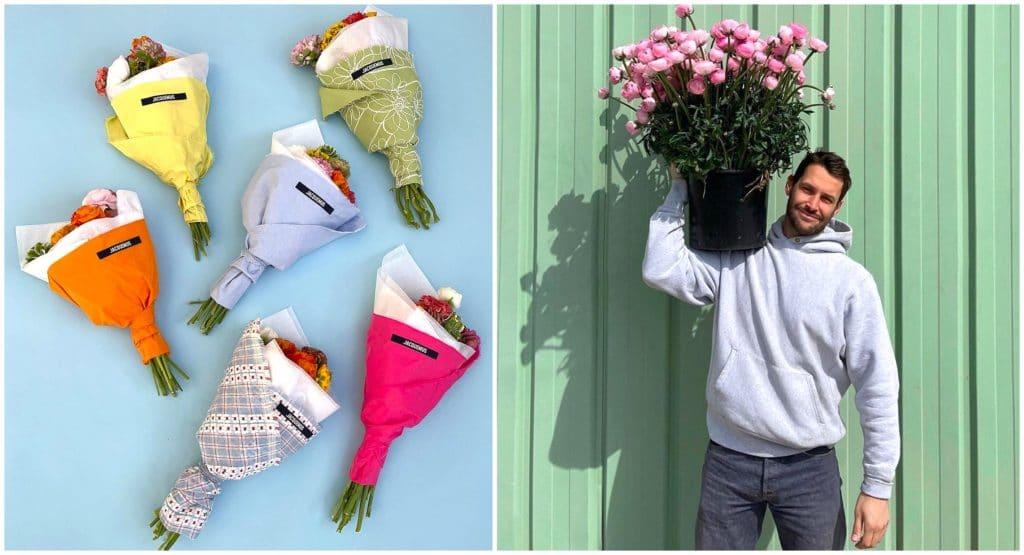 Pop-up store Paris Jacquemus ouvre sa boutique de fleurs éphémère Les Fleurs