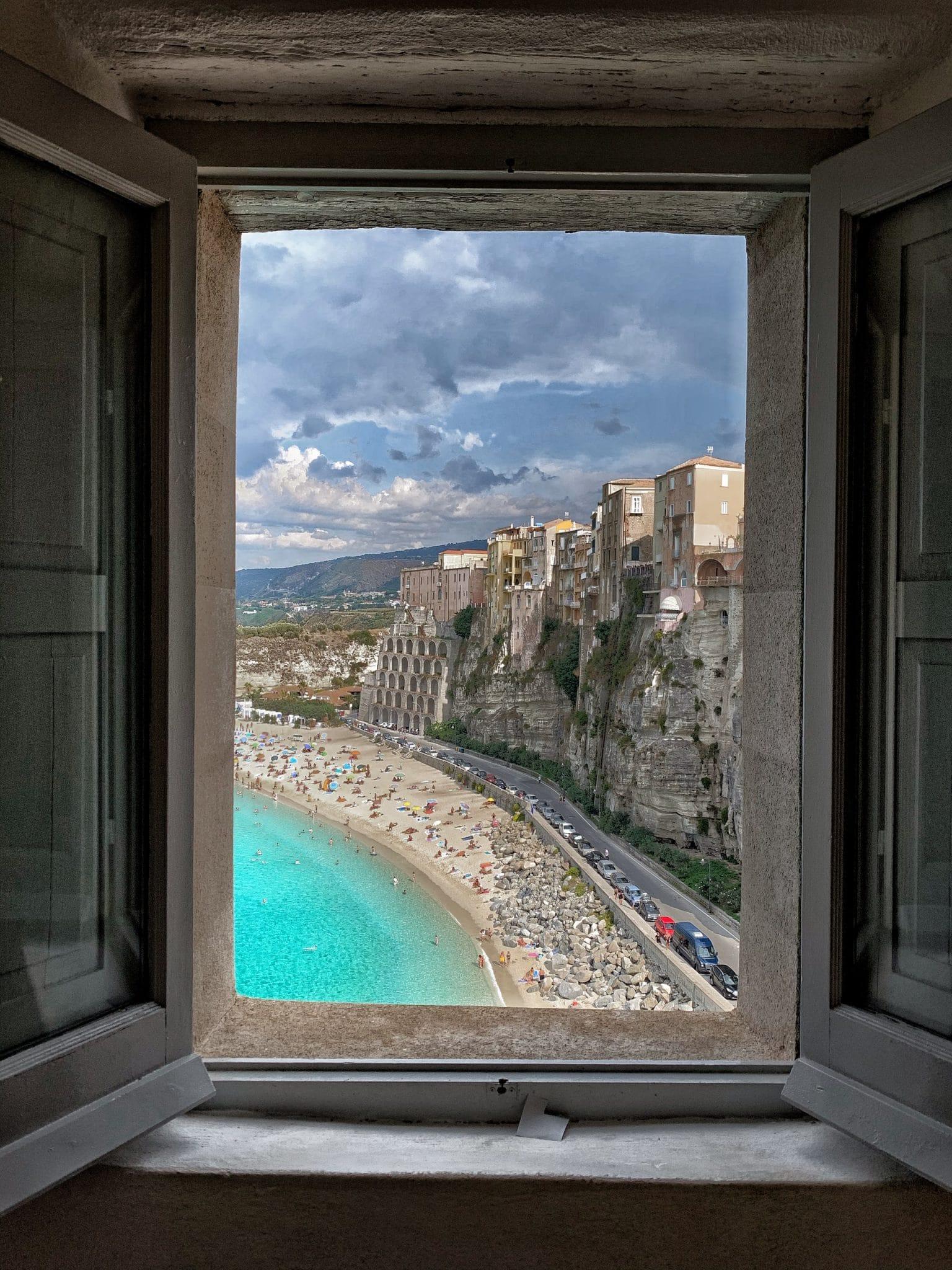 tropea beach plage italie