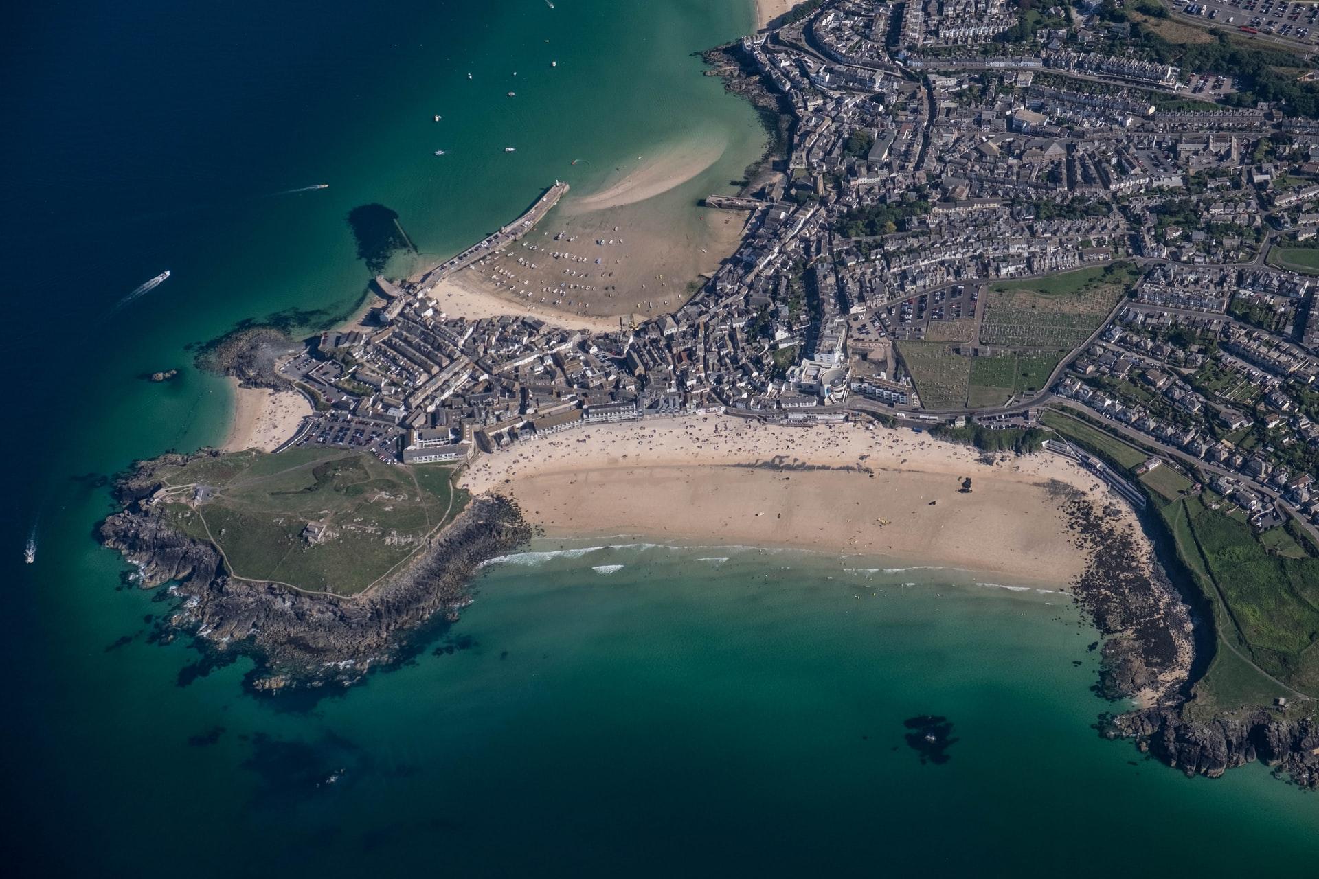 porthminster beach plage royaume uni Cornouailles