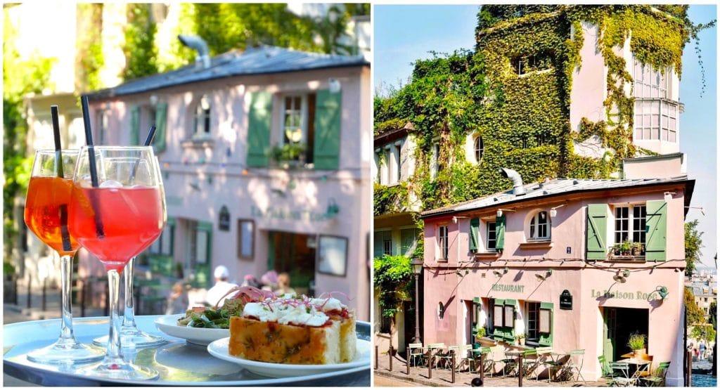 restauration à emporter Paris La Maison Rose Montmartre