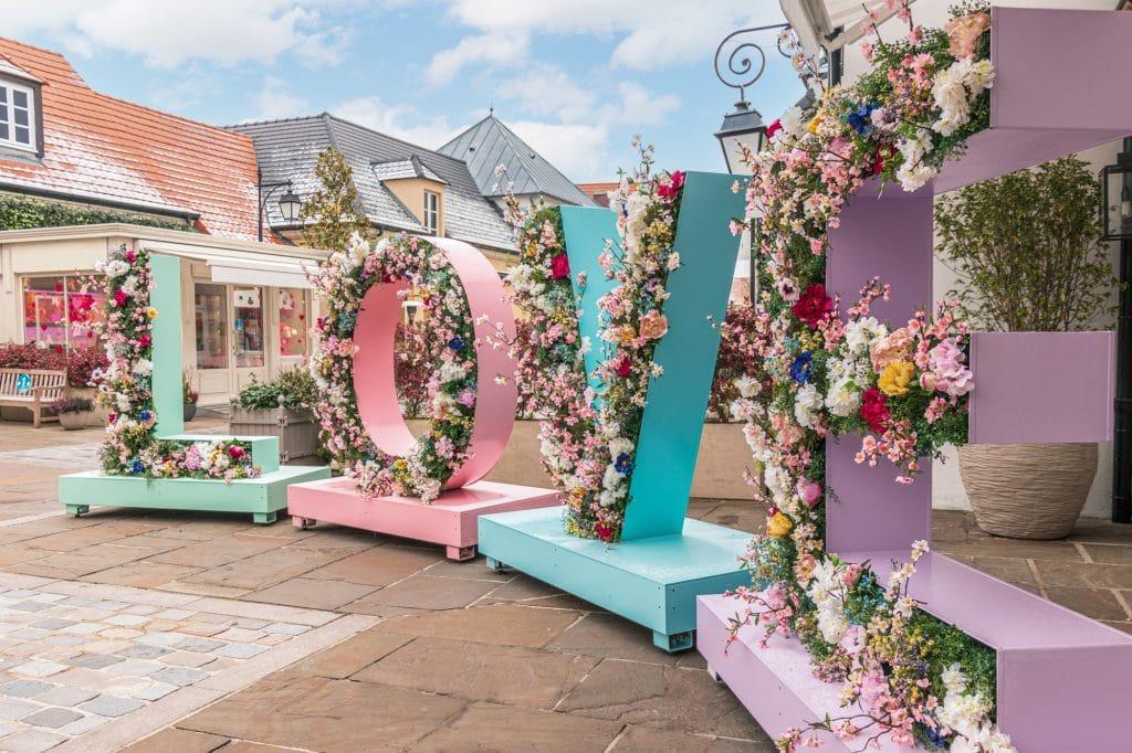 Shopping à distance offres irrésistibles de printemps La Vallée Village