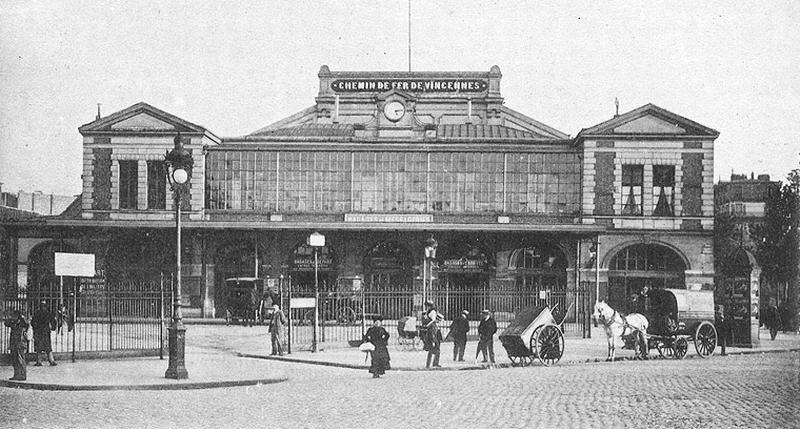 Gare_de_la_Bastille_paris ligne vincennes coulée verte histoire