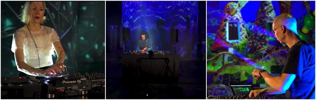 Avril 2021 DJ Set electro immersion Nohlab, Gaudi Van Gogh Atelier des Lumières