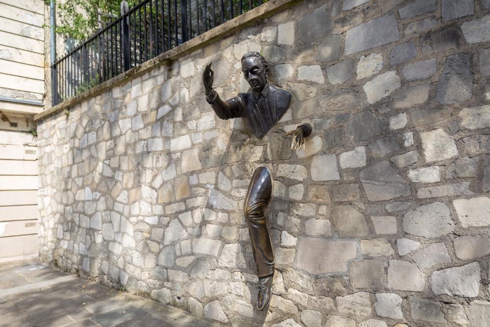 Histoire Passe-Muraille Paris Montmartre