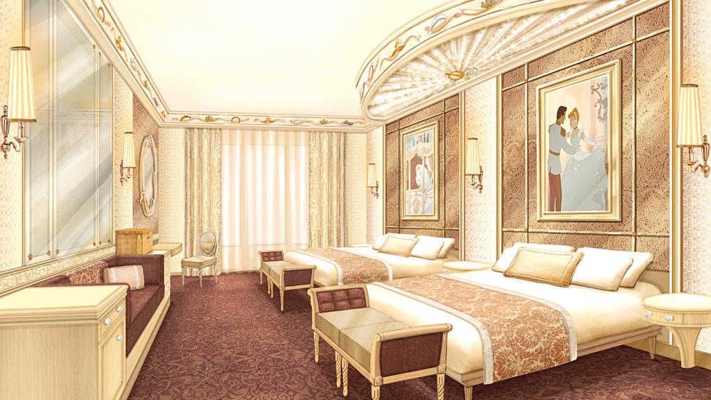 En rénovation le Disneyland Hotel se transforme en royaume féérique Disneyland Paris 2021