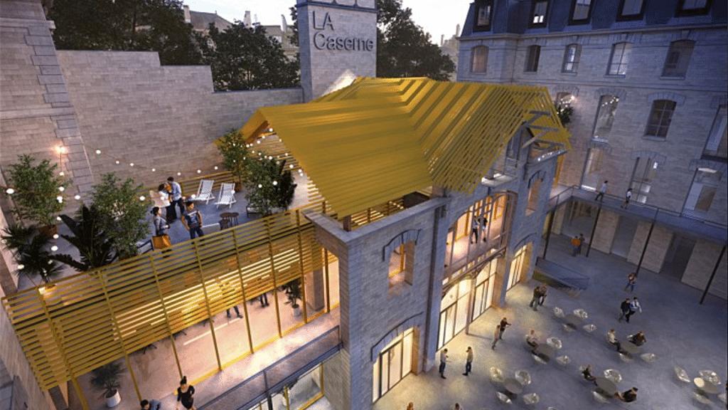 Ancienne caserne de pompiers Château-Landon Paris 10 transformée en boîte de nuit