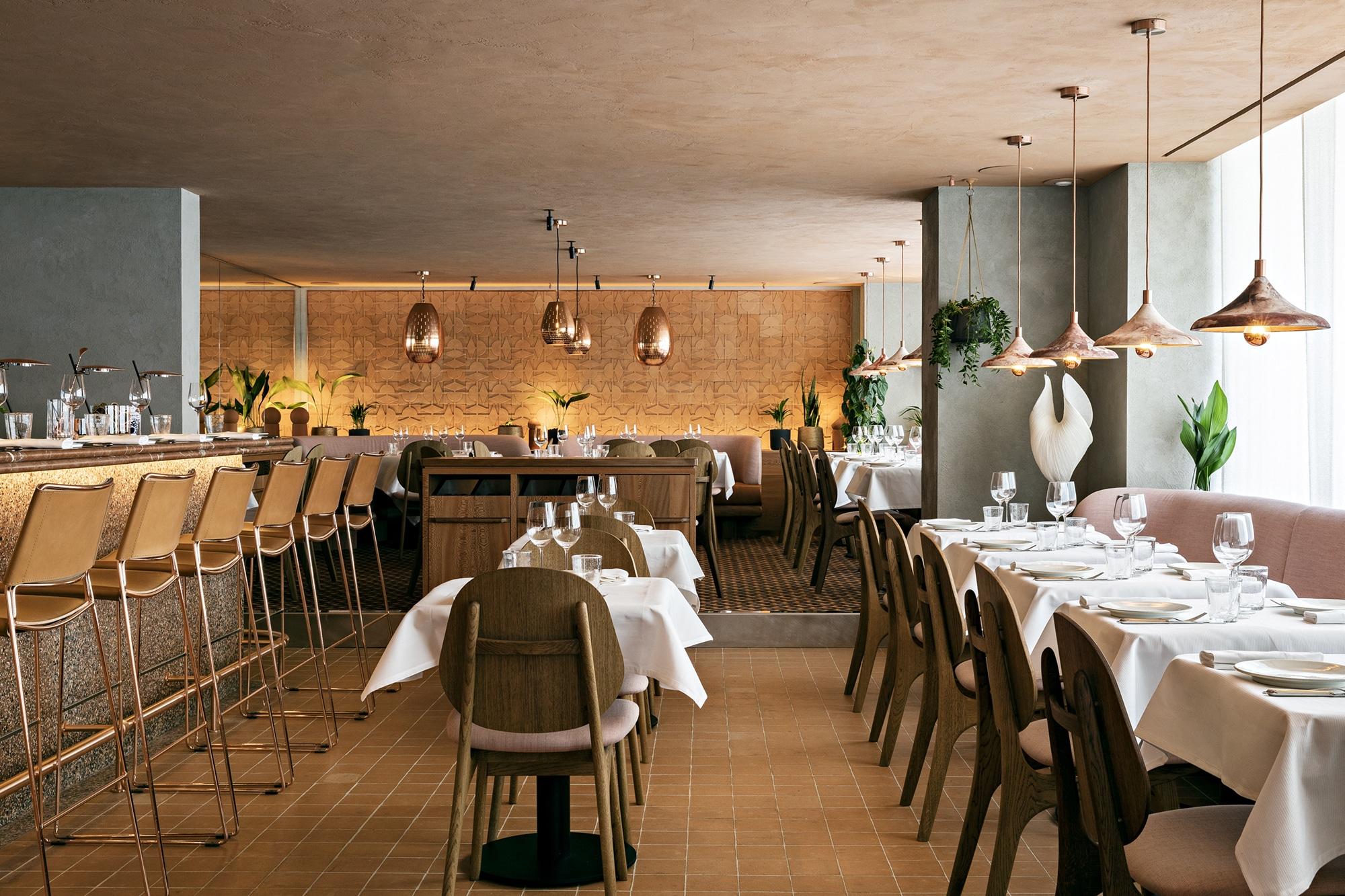 cyril lignac restaurant paris ischia nouveau ouverture italien 15ème salle