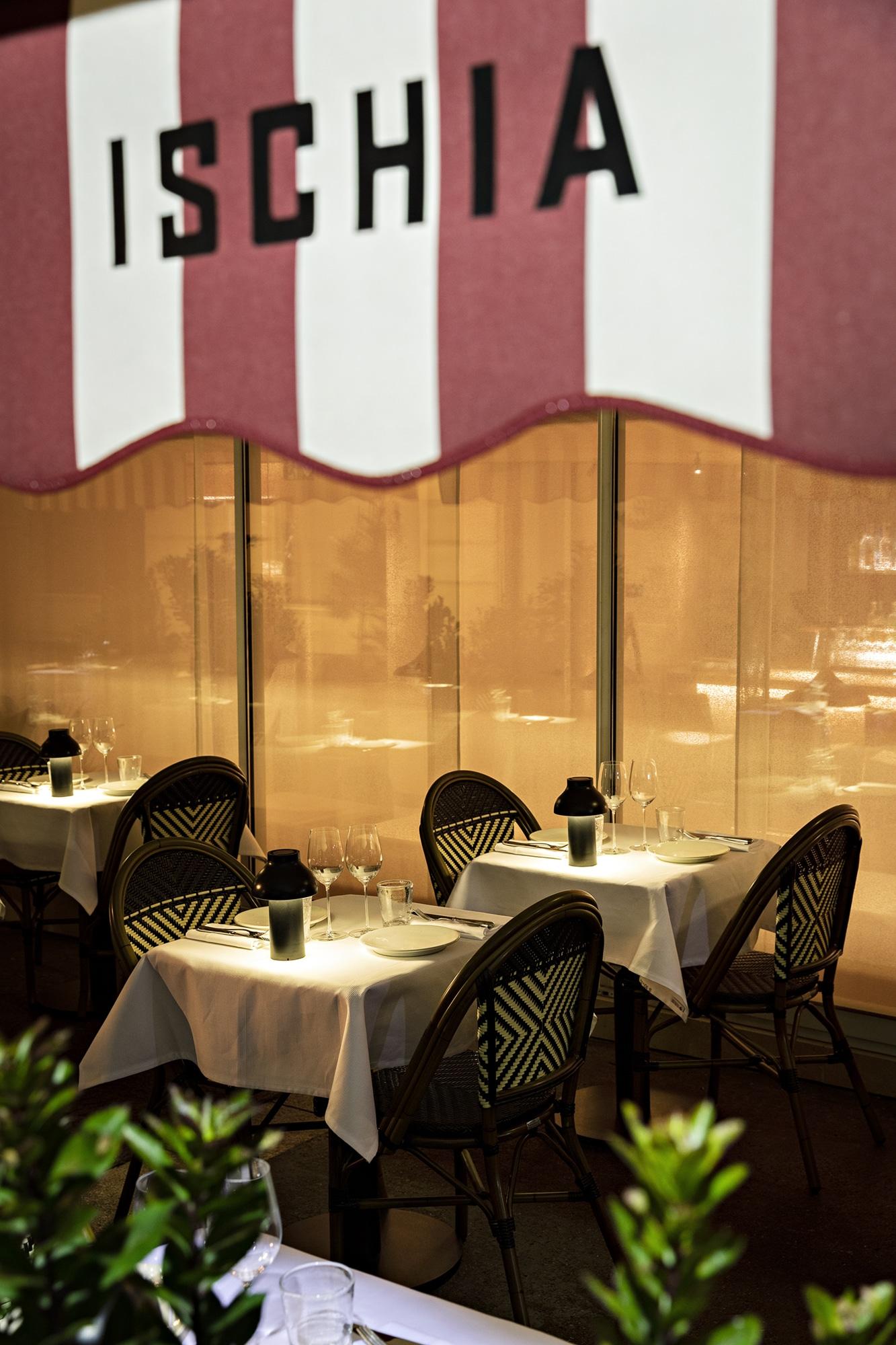 cyril lignac restaurant paris ischia nouveau ouverture italien 15ème terrasse